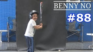 lumpy loves taking batting practice benny no vlog 88