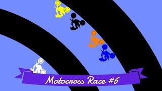 Motocross Race #6: 12 colors | Bouncy Marble