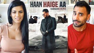 Gambar cover HAAN HAIGE AA | KARAN AUJLA ft. Gurlez Akhtar I Rupan Bal I Avvy Sra I Latest Song 2020 REACTION!!!