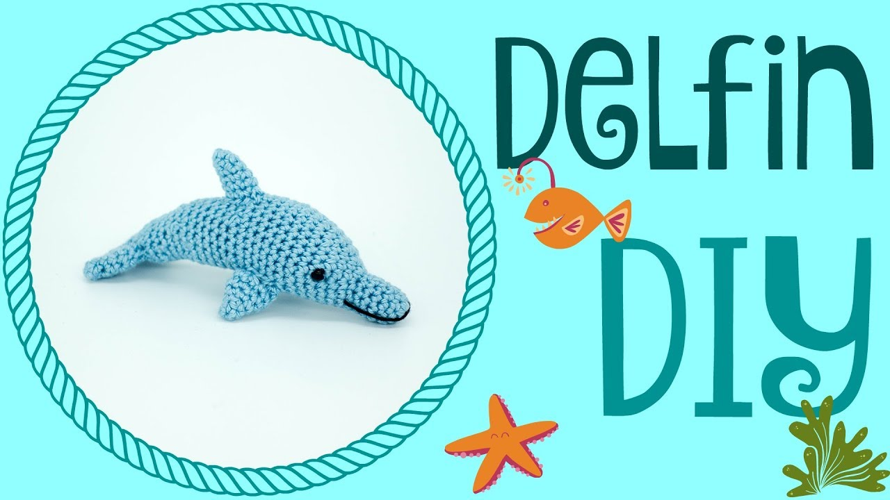 Delfin Häkeln Do It Yourself Amigurumi Zuschauerwunsch