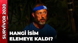 ELEME ADAYI BELLİ OLDU! | Survivor Ünlüler Gönüllüler