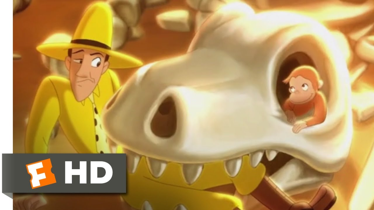 Download Curious George (2006) - Dinosaur Disaster Scene (5/10)   Movieclips