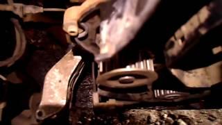 Замена ремня ГРМ на деу-нексии(натяжение ремня  ГРМ 8 клап. двигателя Деу нексия, Ланос)