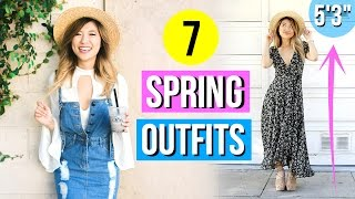 Spring Fashion Lookbook 2017 | 7 Outfit Ideas for Short Girls!
