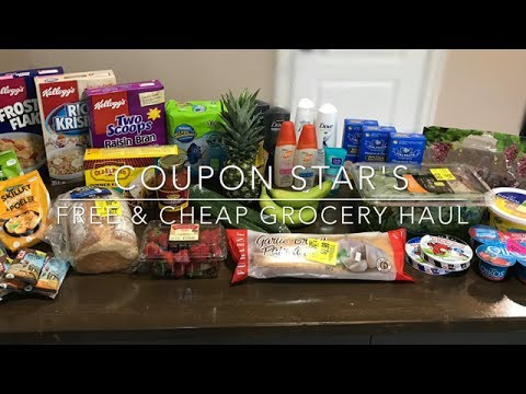 FREE & CHEAP GROCERY HAUL – May 25th 2017 – COUPONING IN CANADA!