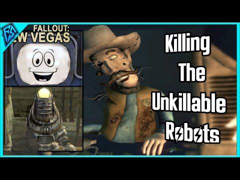 Fallout: New Vegas | Killing The Unkillable Robots (Yes Man, Festus, Vendortron)