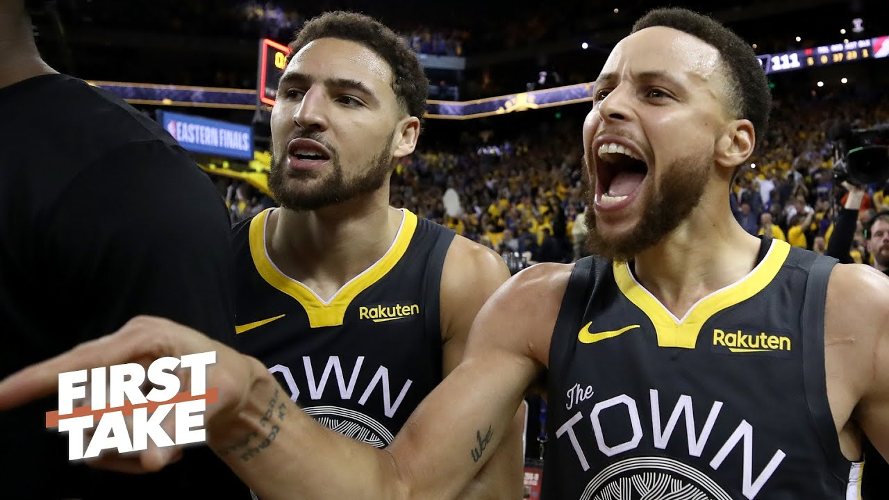 Steph-Klay or Kawhi-Paul George: Which NBA duo would you rather have? | First Take