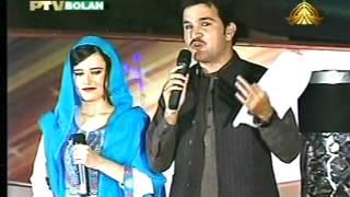 Pashto New Songs PTV Bolan Pashto Live Stage Show Sandara 2016