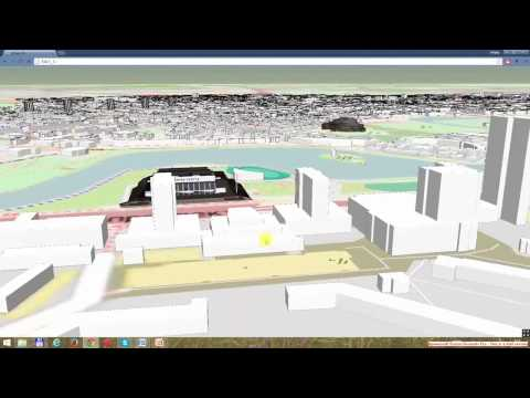 3D City Map of Minsk