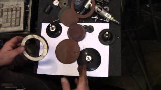 Tightwad Tip - Re-pad Roloc sanding disks