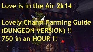 Lovely Charm Farming Guide !! (DUNGEON VERSION) 750 in an HOUR (Love is in the Air)