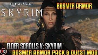 The Elder Scrolls V: Skyrim - Bosmer Armor Pack & Quest