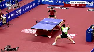 (New!!) 2014 China Nationals MT-F/game1: XU Xin - ZHOU Yu [HD] [Full Match|Short Form]