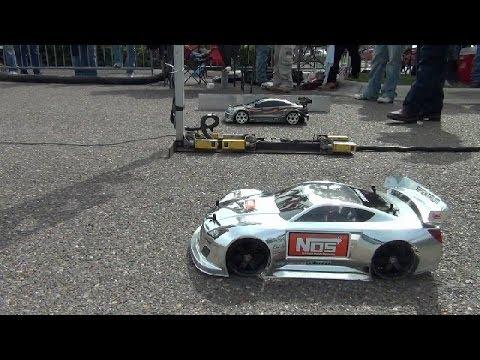 """FINISHLINE RC DRAG RACING at """"Car Fest 2014"""" TRAXXAS OFNA KYOSHO HPI"""