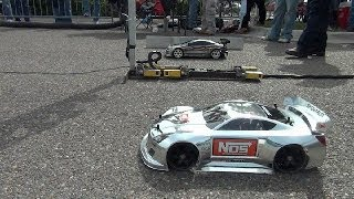 "FINISHLINE RC DRAG RACING at ""Car Fest 2014"" TRAXXAS OFNA KYOSHO HPI"