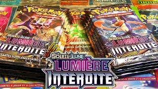 EXCLU ! OUVERTURE DE 10 BOOSTERS POKEMON SL6 LUMIERE INTERDITE FR !