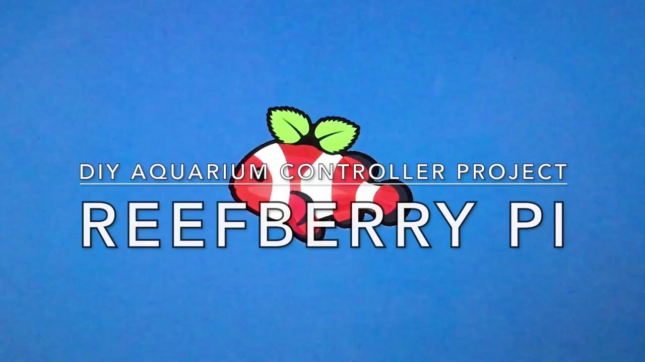 DIY Aquarium Controller - Introducing the Reefberry Pi!
