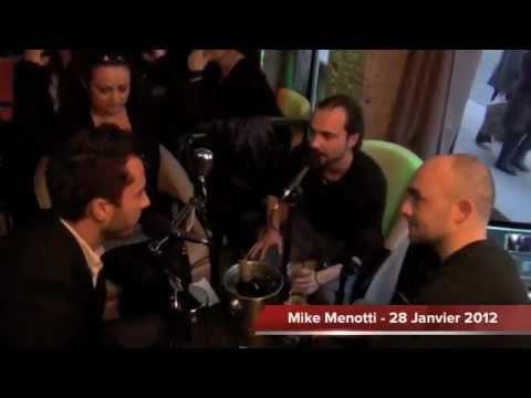 Interview Mike menotti @ Planète Inside (Gus Café / Lyon)