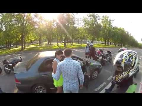 Bikers Attack Couple In Car, You Will NEVER Guess What Happens Next