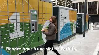 POST Luxembourg - Comment retourner un colis via une station PackUp