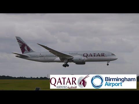Qatar Airways Flight 33 (Doha to BHX)