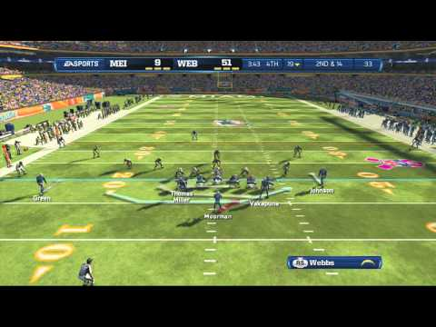 Madden 13: Brian Moorman Highlights #1 | HD