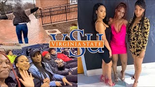 A week in the life of an HBCU college student | VSU vlog