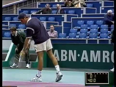 Rotterdam 1999 R2 - Federer vs Ulihrach