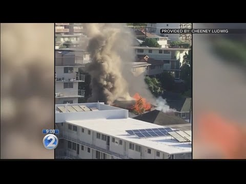 Investigators say stove sparked fire that destroyed Makiki home