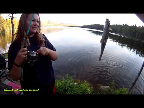 Family Catches 15 Trout Using Power Eggs At Warm Lake Idaho!!