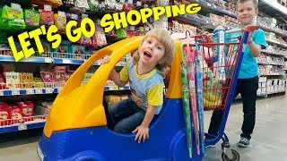 Children Song - Let's Go Shopping - song by iFinger