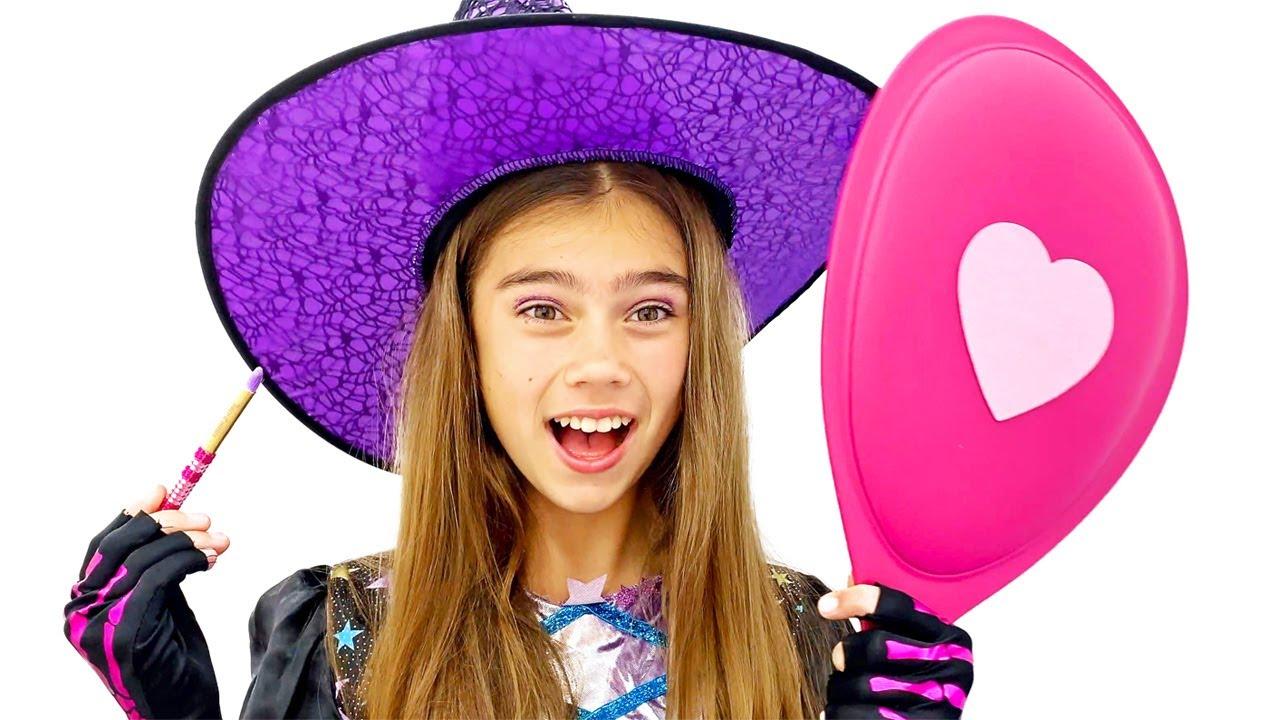 Download Nastya verkleiden sich und machen mysteriöse Einkäufe für Halloween
