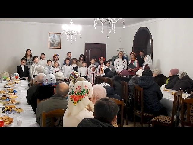 Выступление воспитанников детской воскресной школы Свято-Озерянского храма, 23 февраля 2020 г.