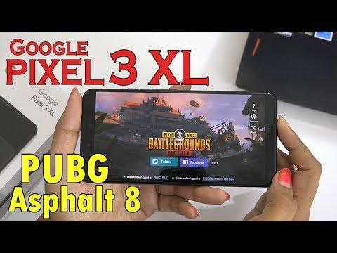 Google PIXEL 3 XL - Extreme Gaming(PUBG & Asphalt 8)