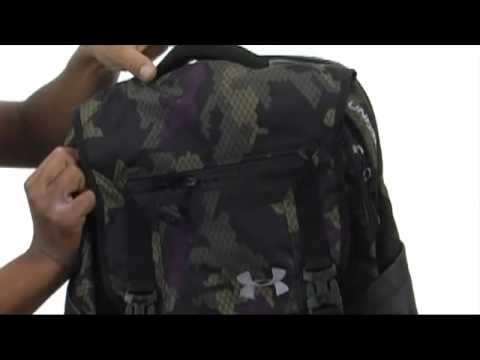 e04aab6dad Under Armour UA Ruckus Backpack SKU  8126688 - YouTube