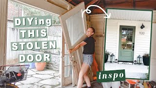 my exterior makeover continues | Making Home | EP 16