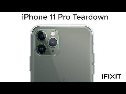 iFixit Tearing Down New iPhone 11 Pro Live on YouTube