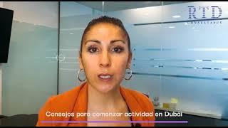 ¿Interesad@ en iniciar actividad empresarial en Dubái?