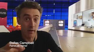 FameLab - explaining a complex idea to a lay audience