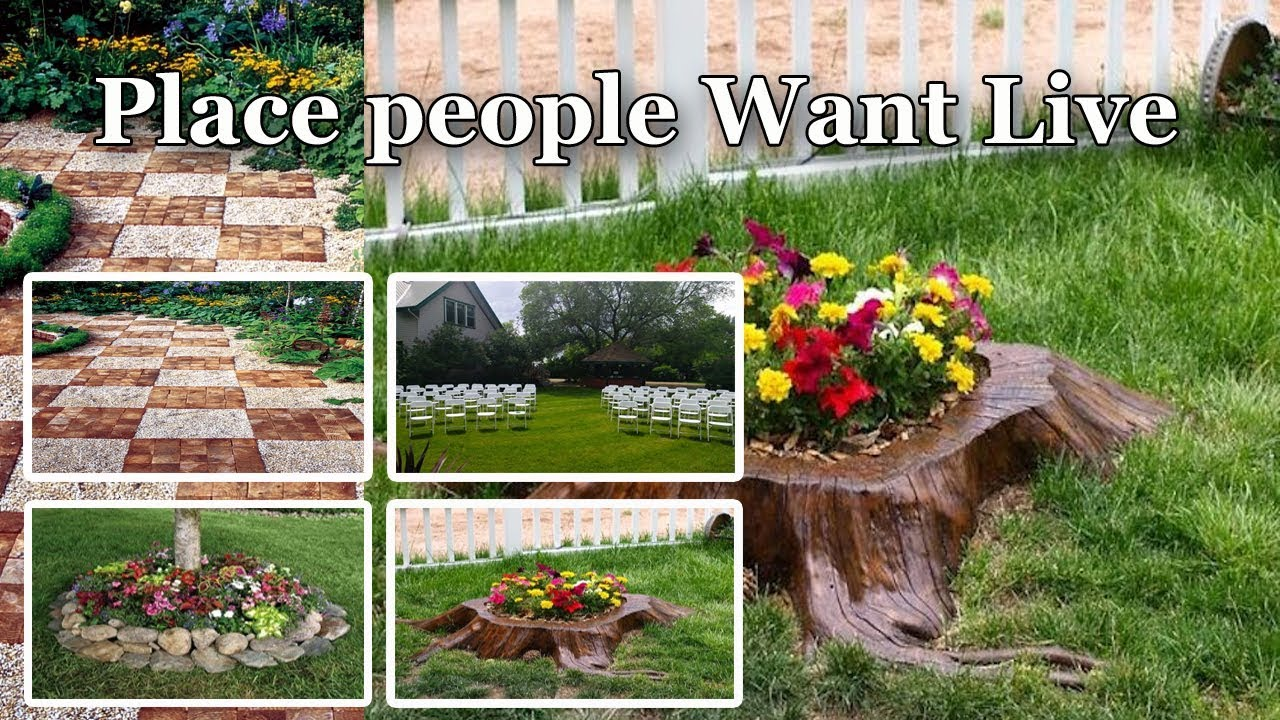 The Amazing Natural Garden Designs For Front Of House Garden
