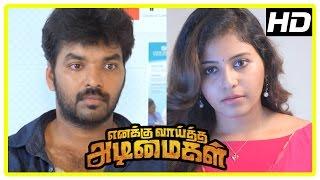 Enakku Vaaitha Adimaigal Movie Climax | Anjali proposes to Jai | End Credits