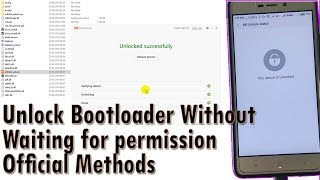 New Method To Unlock Bootloader Without Permission For Any Xiaomi Device
