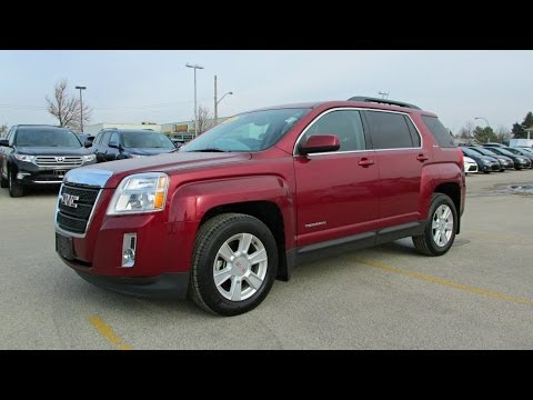 2011 GMC Terrain SLE Start up, Walkaround and Vehicle Tour