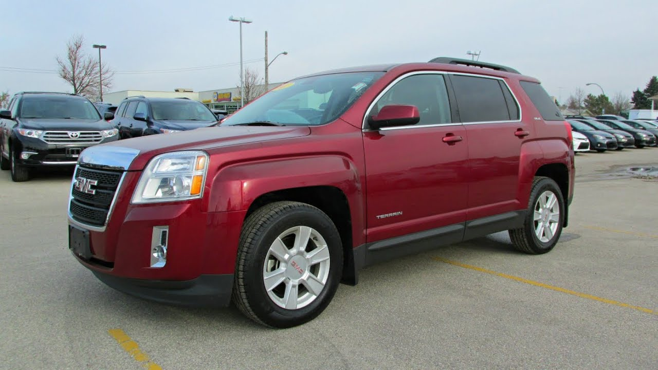 2011 GMC Terrain SLE Start Up Walkaround And Vehicle Tour