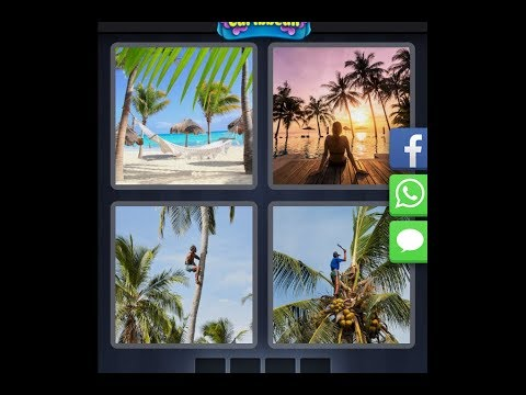 4 Pics 1 Word  - Caribbean - Daily Puzzle - 03/05/2019 - March 2019 - Answer - Walkthrough