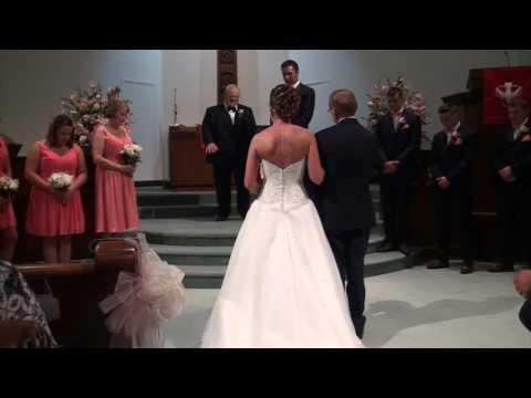 Travis and Sarah Drury Wedding