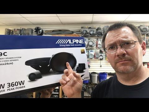 It's Friday and we have new Alpine Speakers!