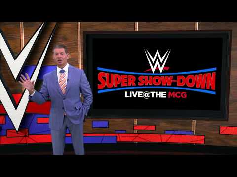 WORLD'S BIGGEST WWE SUPERSTARS TO DESCEND ON THE MCG