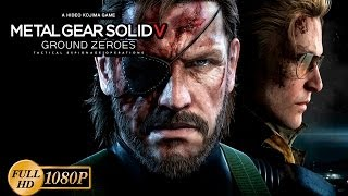 Metal Gear Solid V Ground Zeroes PS4 Walkthrough Parte Historia Completa Español Gameplay MGS5 1080p