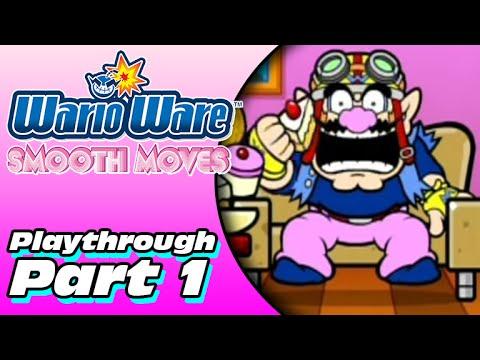 WarioWare: Smooth Moves Playthrough (Part 1)